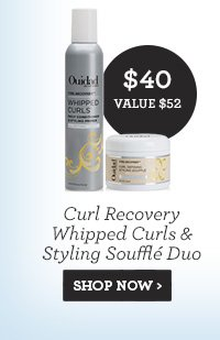 Curl Recovery Whipped Curls and Styling Souffle Duo