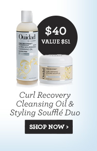 Curl Recovery Cleansing Oil and Styling Souffle Duo