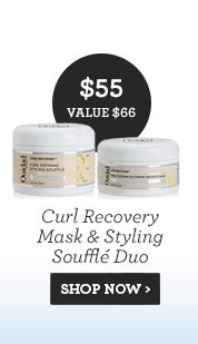 Curl Recovery Mask and Styling Souffle Duo