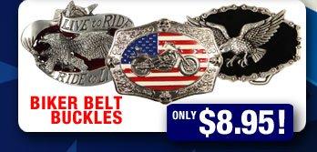 NEW Biker Belt Buckles!