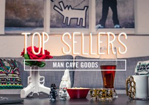 Shop Top Sellers: Man Cave Goods