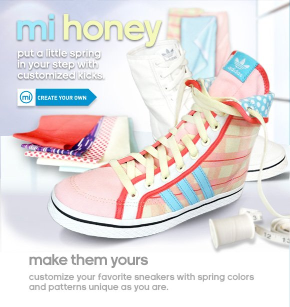Customize the mi Honey »