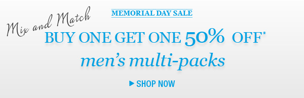 Shop Men's Multi-packs