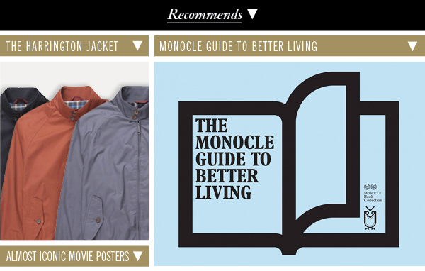 Harrington Jackets | Monocle Guide to Better Living