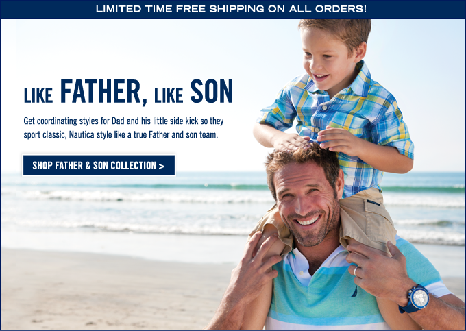 Like Father, Like Son! Shop Collection.