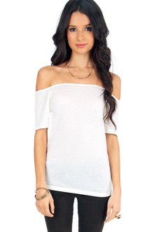 OFF SHOULDER BASIC TEE 16