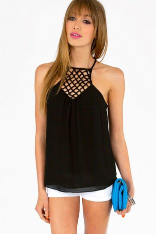 CAGED CHEST CAMI 31