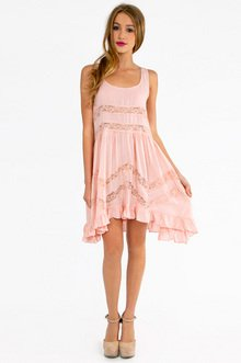 PLAYING RUFFLE DRESS 42