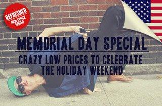 Memorial Day Bargain Bin Refresh