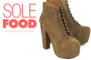 Sole Food: Footwear For Thought
