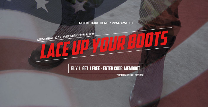 Lace Up Your Boots