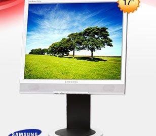 "Refurbished: SAMSUNG SyncMaster 710TM 17"" LCD Monitor 600:1 Built-in Speakers"