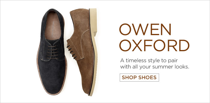 OWEN OXFORD | A timeless style to pair with all your summer looks.  SHOP SHOES