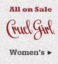 All Womens Cruel Girl Jeans On Sale