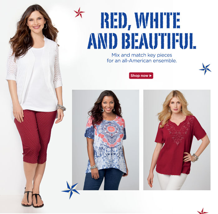 Red, White And Beautiful