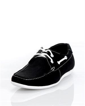 Sedagatti Faux Leather Boat Shoes