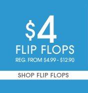Shop $4 Flip Flops