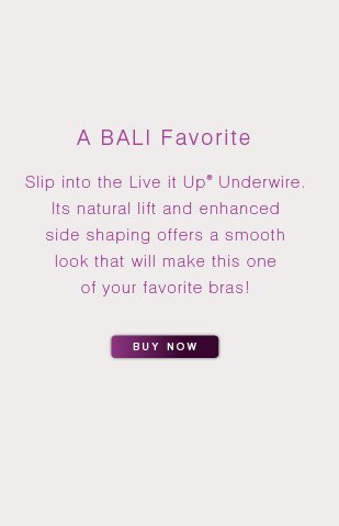 Shop this and other Bali intimates styles at onehanesplace.com