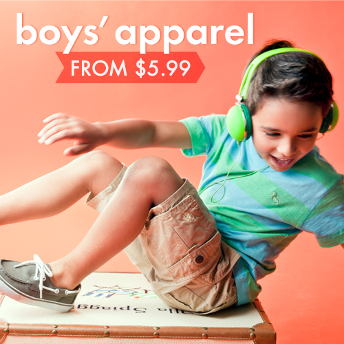 Blow-Out: Boys' Apparel