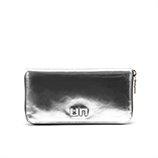 Zipper Wallet   Silver