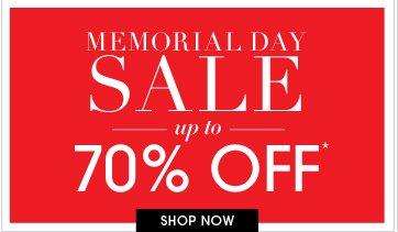 Shop Memorial Day Sale