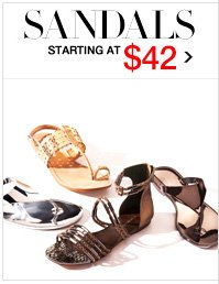 SANDALS STARTING AT $42