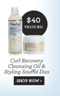 Curl Recovery Cleansing Oil & Styling Soufflé Duo - SHOP NOW