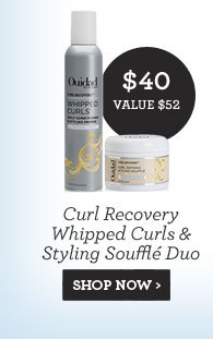 Curl Recovery Whipped Curls & Styling Soufflé Duo - SHOP NOW