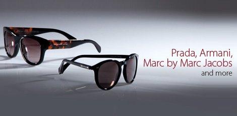 Prada, Armani, Marc by Marc Jacobs