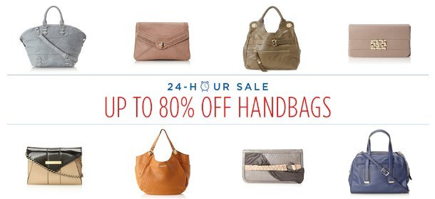UP TO 80% OFF: HANDBAGS, Event Ends May 28, 9:00 AM PT >