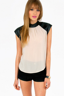 LAUREN TRIM BLOUSE 30
