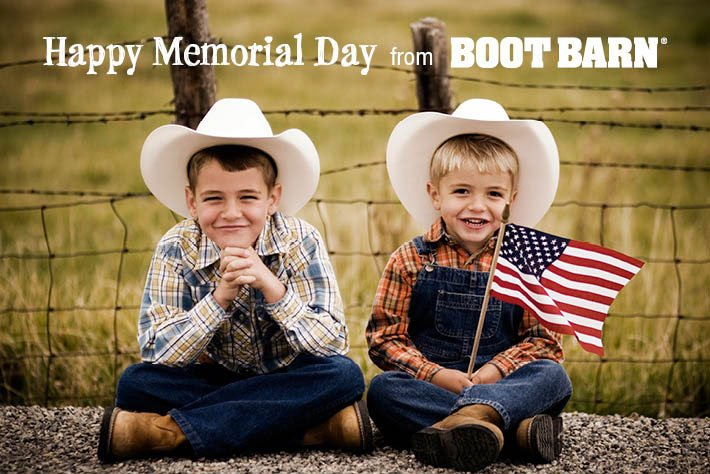 Happy Memorial Day from Boot Barn®