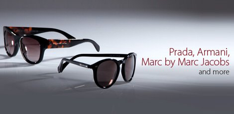 Prada, Armani, Marc by Marc Jacobs