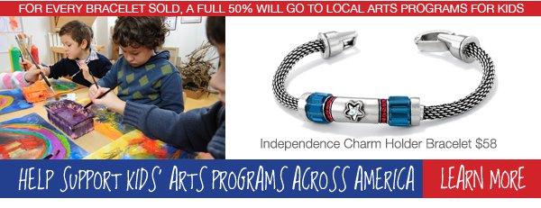 Help support kids' arts programs across America