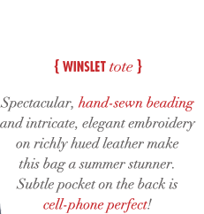Winslet tote