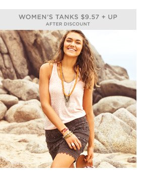 Women's Tanks $9.57 + Up After Discount