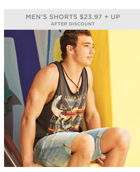 Men's Shorts $23.97 + Up After Discount