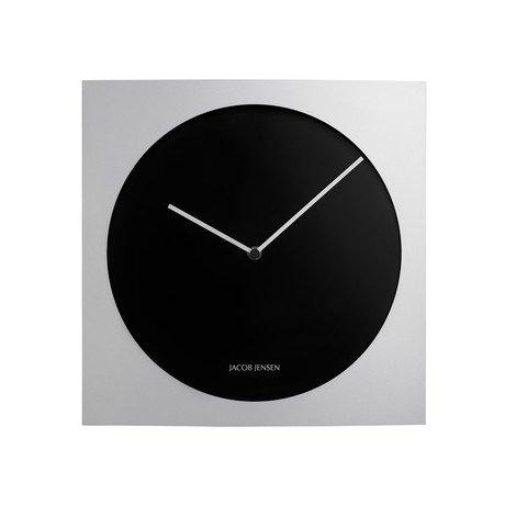 Wall Clock Series // Black + Aluminum
