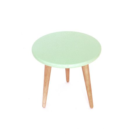 High Lacquer Stool