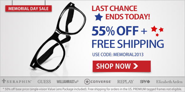 Last Chance: 55% Off + Free Shipping!