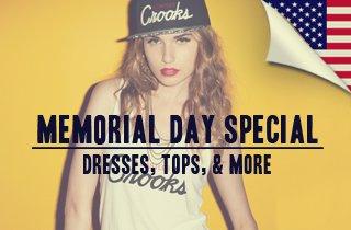 Dresses, Tops, & More