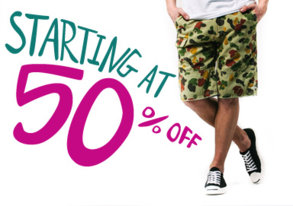 Shop Shorts Stock-Up: Starting at 50% OFF