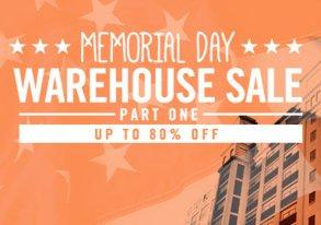Shop Memorial Day Warehouse Sale: Part I