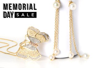 Memorial Day Sale: Jewelry Gold