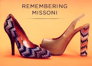 Missoni Women's Footwear Made In Italy