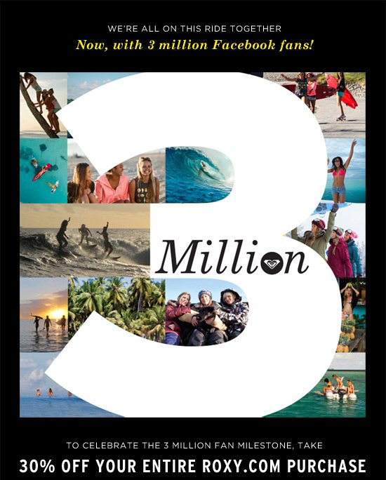 We're all on this ride together - Now, with 3 million Facebook fans!