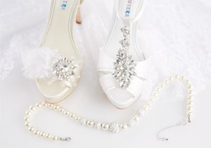 David Tutera Bridal Shoes & Jewelry