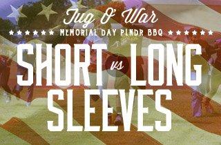 Tug O' War: Short Sleeves VS Long Sleeves
