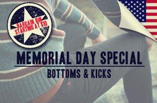 Bottoms & Kicks
