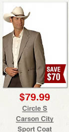 Circle S Carson City Western Sport Coat